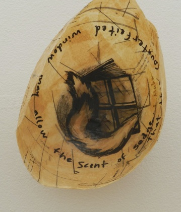 Litany Bowl, REASSURANCES exhibit, Cedar Crest College, 2014.
